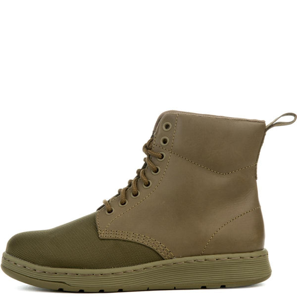 Dr. Martens Rigal Men's Mono Cdr Gun Green Boot