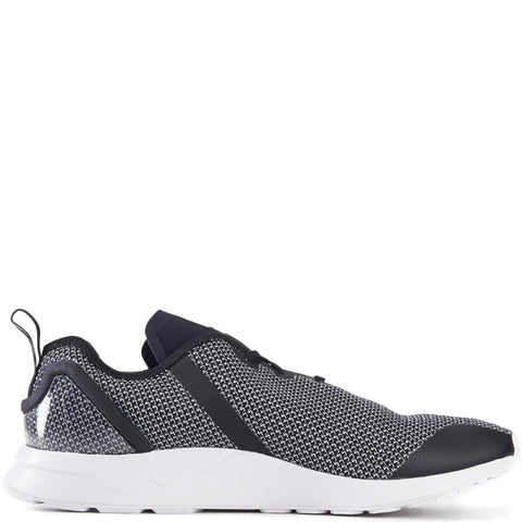 adidas for Men: ZX Flux ADV Asymmetrical Grey Running Shoes