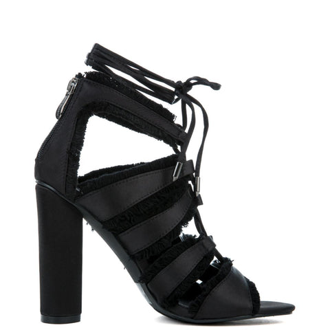 Cape Robbin Maura-5 Black Women's High Heel
