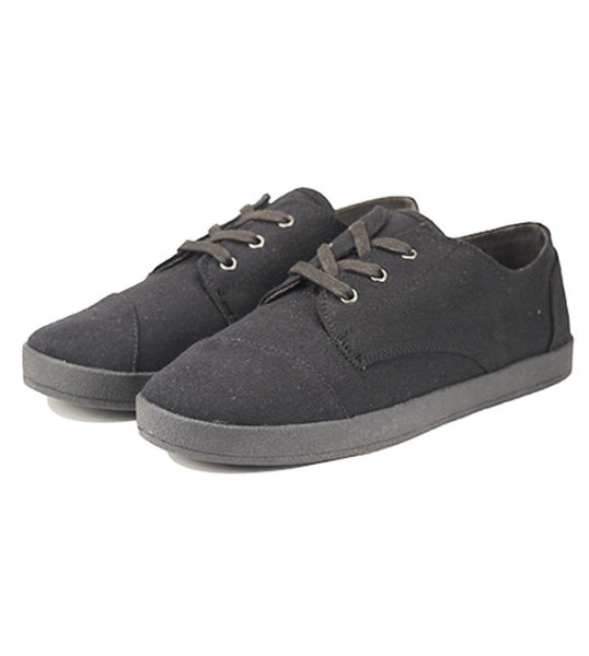 Toms for Women: Paseo Black on Black Canvas