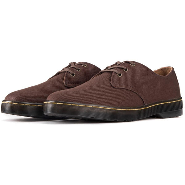 Dr. Martens for Men: Delray Dark Brown Oxfords
