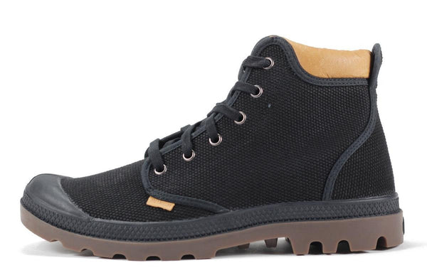 Palladium for Men: Pampa Hi Cuff Black Gum Boot