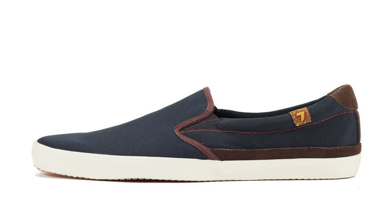 Seven for All Mankind for Men: Cal Navy Slip on Sneaker