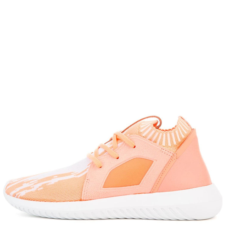 Women's Tubular Defiant Primeknit W Orange Sneaker