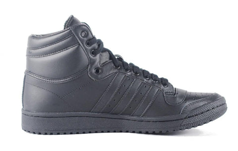 Adidas for Men: Top Ten Hi Black Black Sneaker