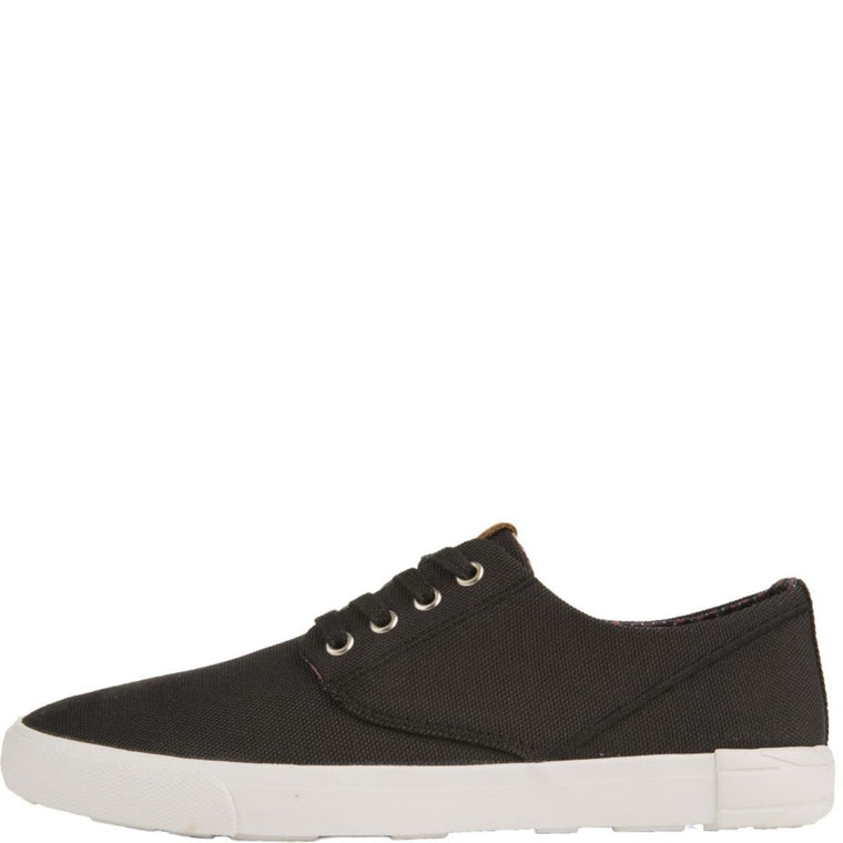 Ben Sherman for Men: Rhett Black Nylon Sneakers