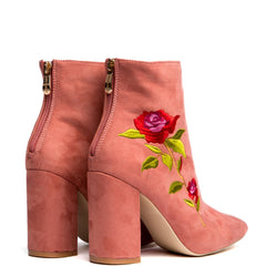 Cape Robbin Betisa-38 Pink Women's Booties