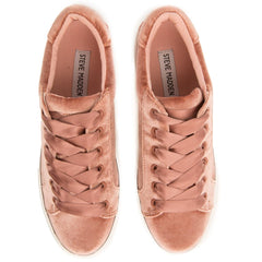 Steve Madden for Women: Bertie-V Blush Platform Sneakers