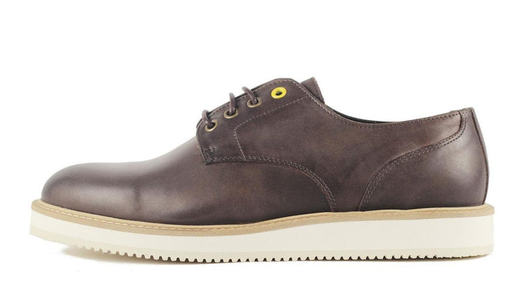 Wesc for Men: Bo Dark Chocolate Low Top Oxford Oxford