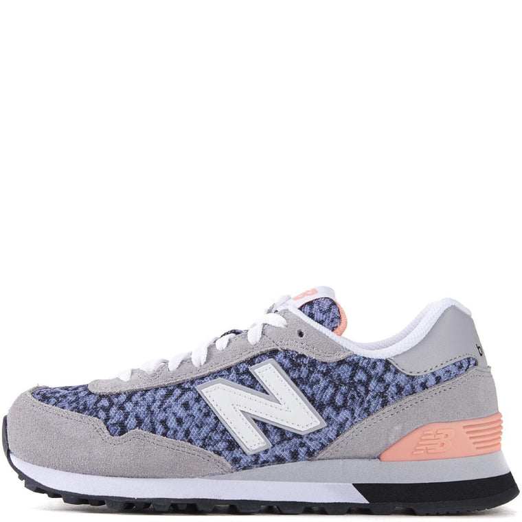 New Balance for Women: 515 Classic Grey/Blue/Coral Running Shoes