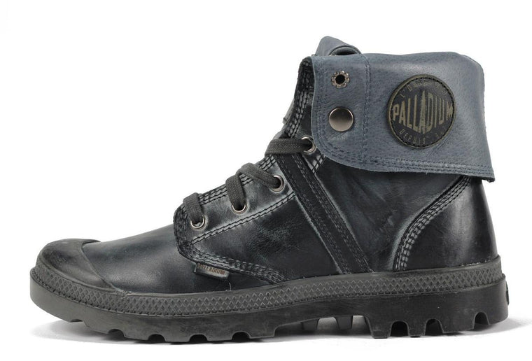 Palladium for Men: Pallabrouse Baggy L2 Shadow Metal Boots