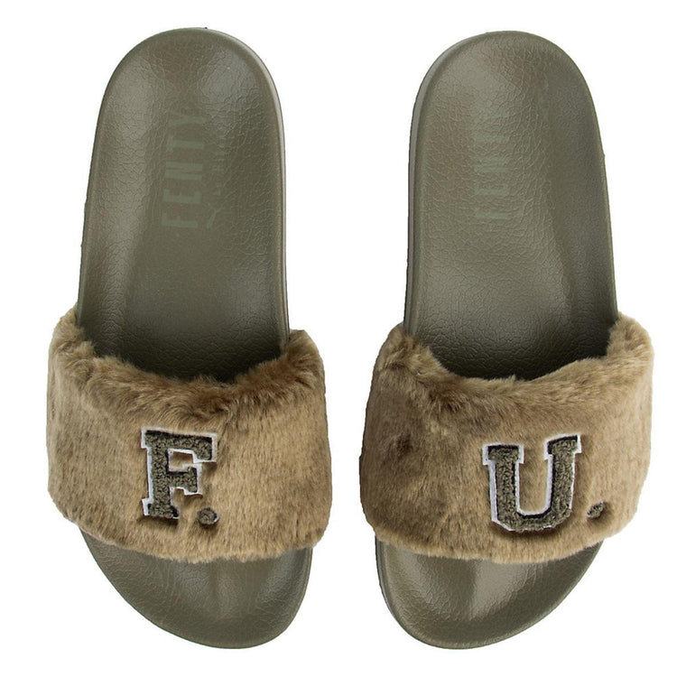 Women's Leadcat Fenty Fu Fur Slide