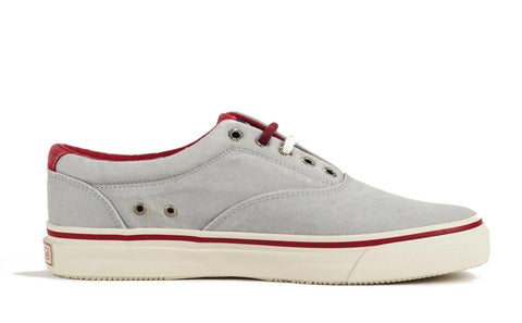 Sperry Topsider for Men: Striper CVO Grey Red Sneaker
