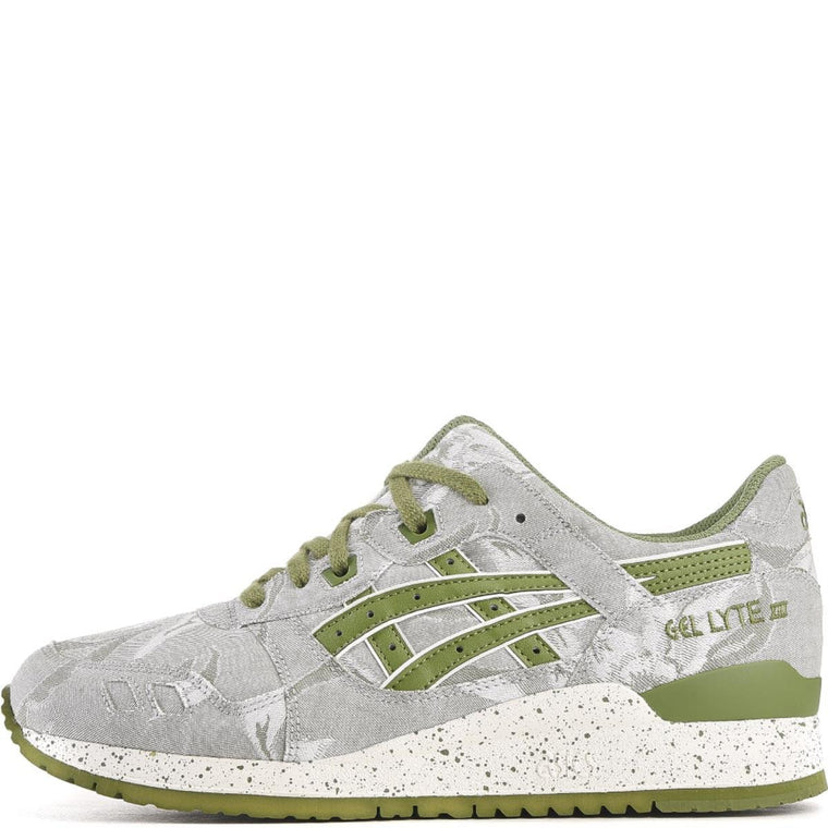 Asics for Men: GEL-Lyte III Cedar Green/Cedar Green Sneakers