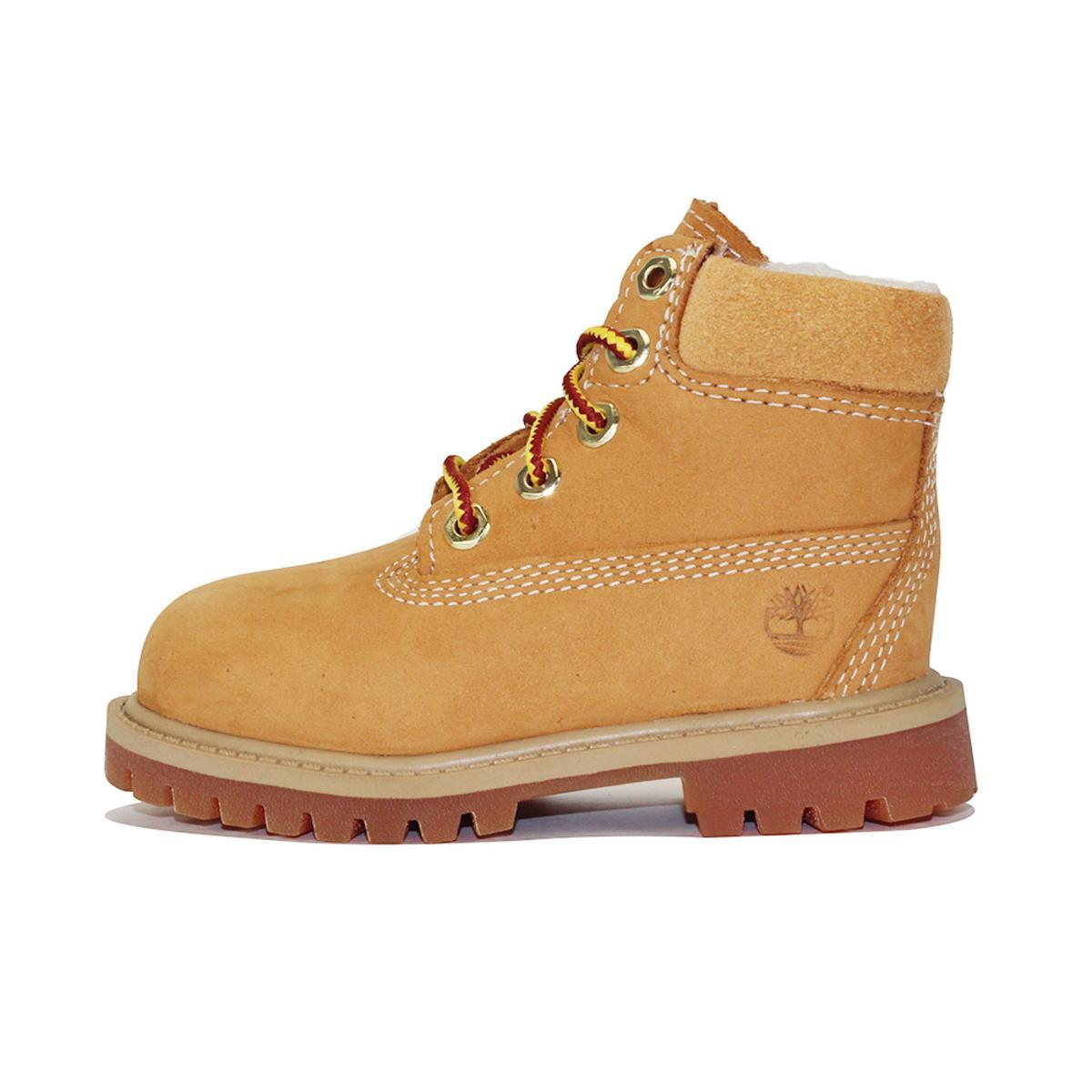 Timberland for Toddlers: 6-Inch Classic Fur Wheat Boot