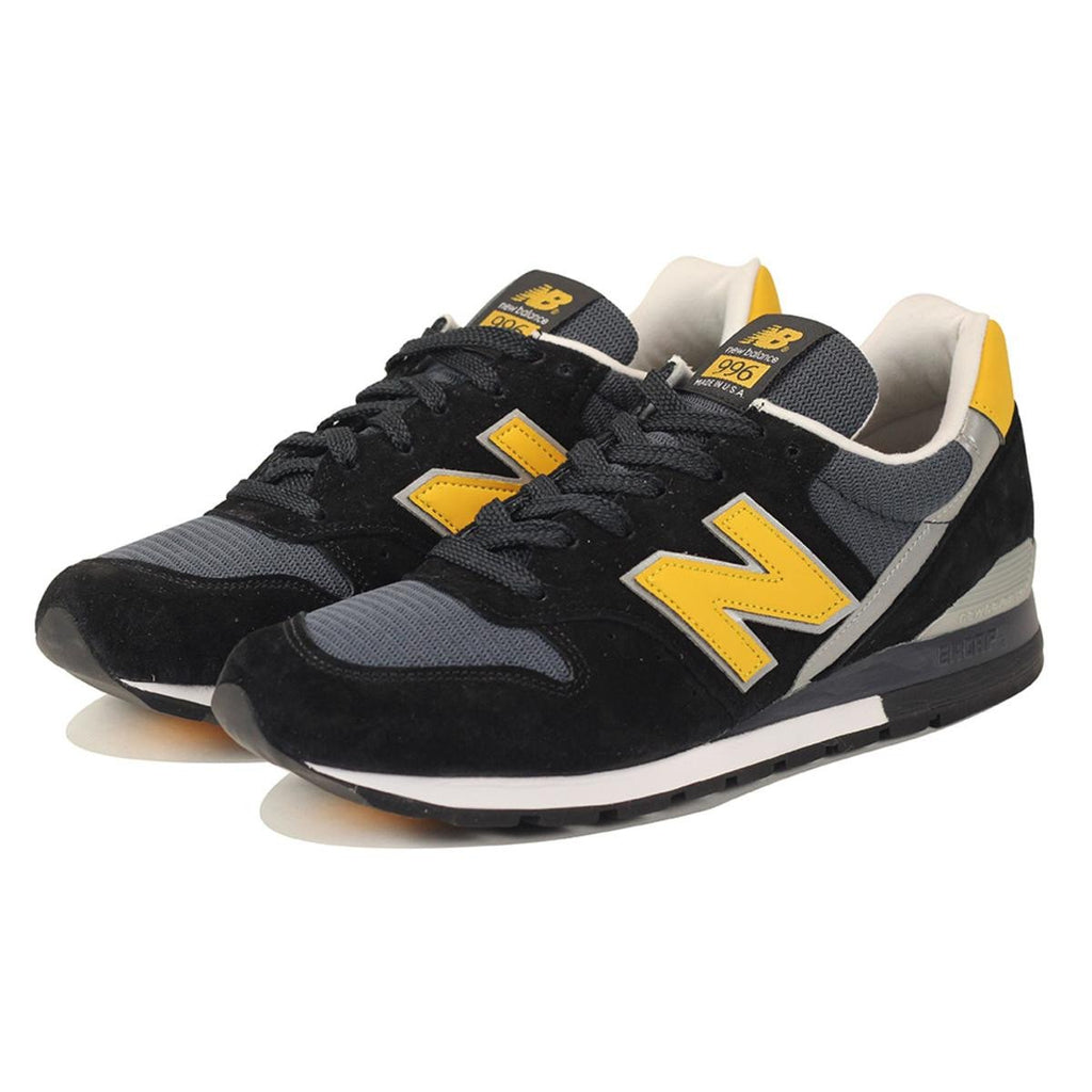 best service 3a4d7 5f3a4 ... New Balance for Men  996 Connoisseur Retro Ski Black with Yellow    Silver