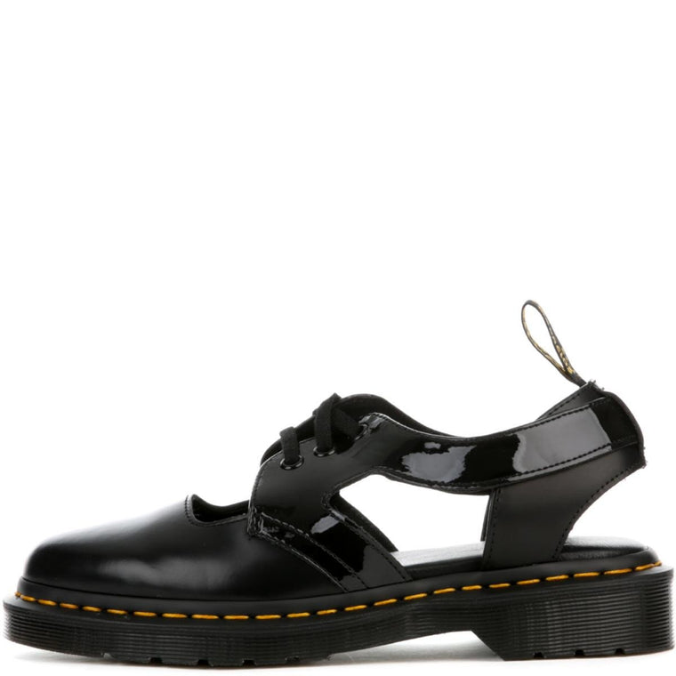 Women's Genna Black Cut Out Shoe