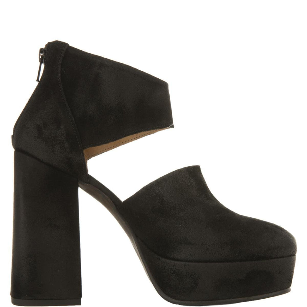 e16c65a9df7 Free People for Women  Luxor Black Suede Platform Heels
