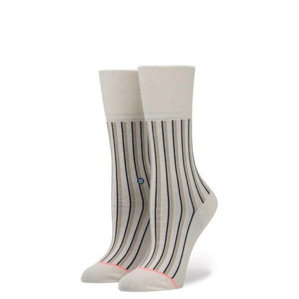Stance for Women: Stripe Up Grey