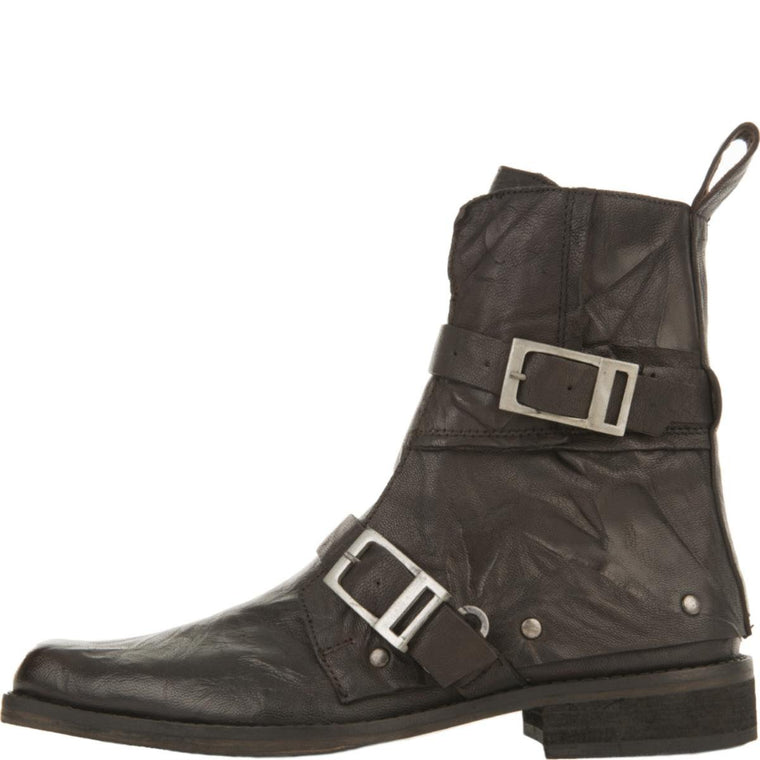 Free People for Women: Outsiders Black Moto Boots