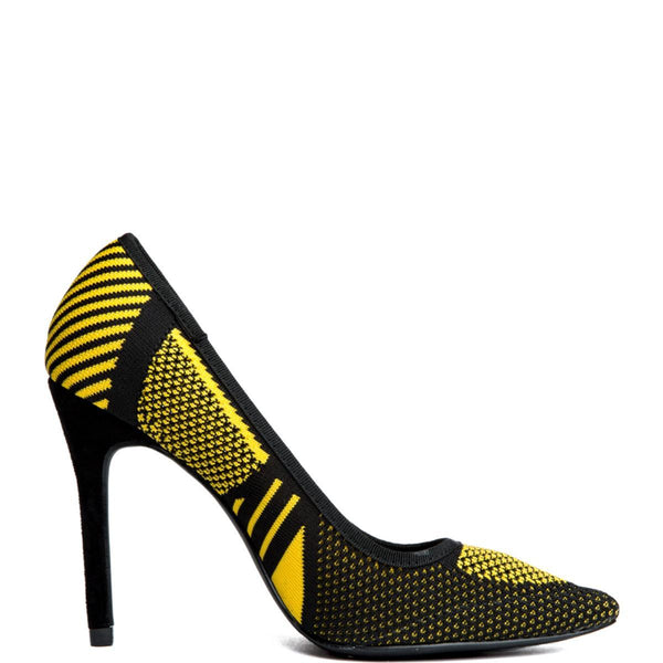Cape Robbin Kitana-38 Yellow Women's High Heel