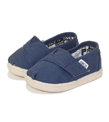 Tiny Toms Classic Navy Canvas