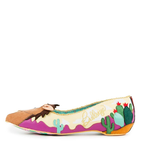 Toy Story x irregular Choice Women's Round Up Gang Flats