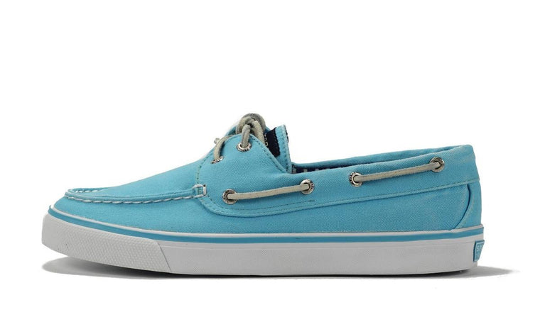 Sperry Topsider for Women: Bahama Turquoise Canvas Boat Shoe