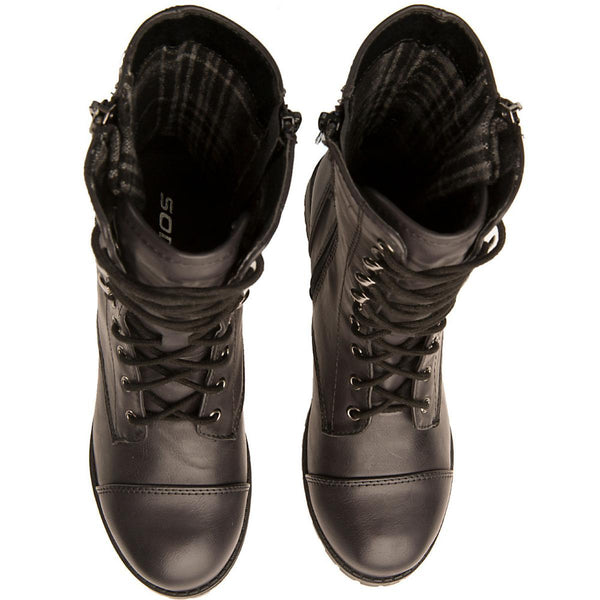 Women's Footer-S Lace-Up Combat Boot