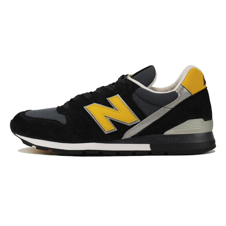 New Balance for Men: 996 Connoisseur Retro Ski Black with Yellow & Silver
