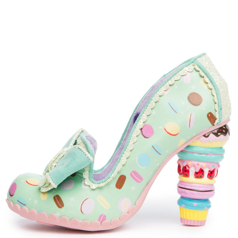 Irregular Choice Little Kisses Women's Mint Heels