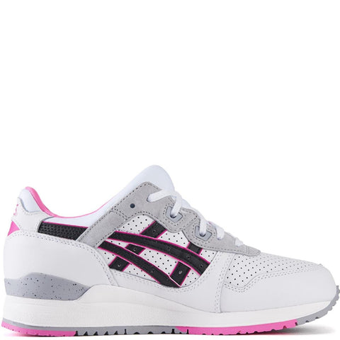 asics for Women: Gel-Lyte III White/Black Running Shoes