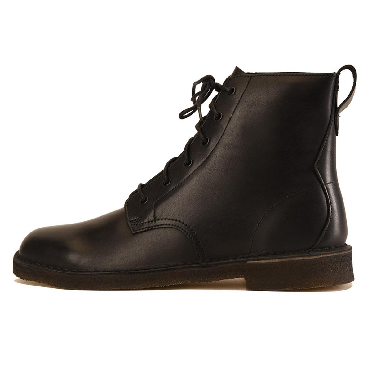 Clarks for Men: Desert Mali Black Boot