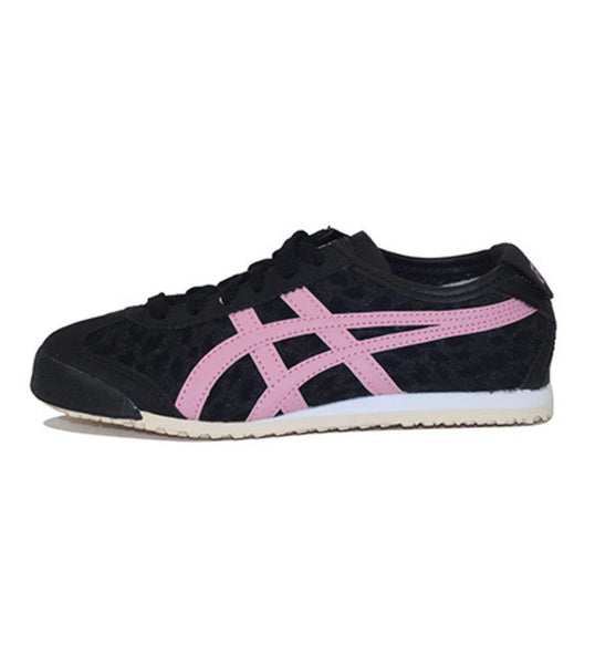 Onitsuka Tiger for Preschool: Mexico 66 PS Black/Pink Sneakers