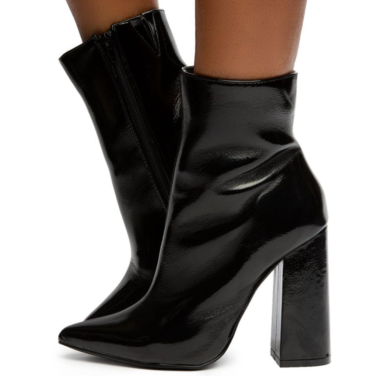Maui-7 Pointy Toe Booties