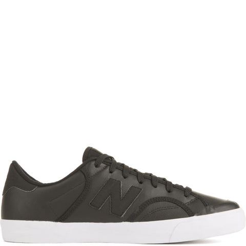 New Balance Unisex: ProCourt Black Leather Sneakers