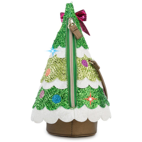 CHRISTMAS TREE CROSSBODY BAG