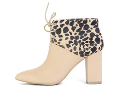 Seychelles for Women: Nonchalant Vacchetta Leather Cheetah Pony Hair High Heels