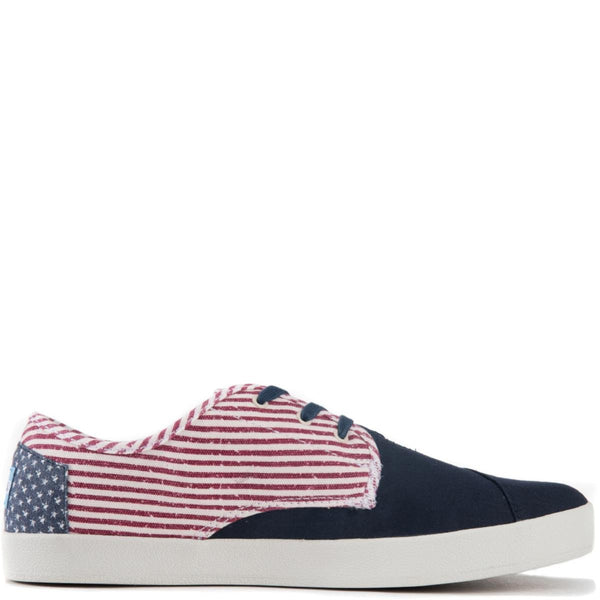 Toms for Men: Paseo Americana Canvas Flag Sneakers