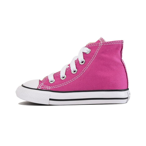Converse for Infants: Chuck Taylor All Star Hi Plastic Pink Sneaker