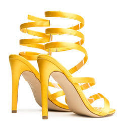 Cape Robbin Suzzy-59 Yellow Women's High Heel