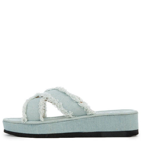Cape Robbin Hera-3 Light Denim Women's Sandal