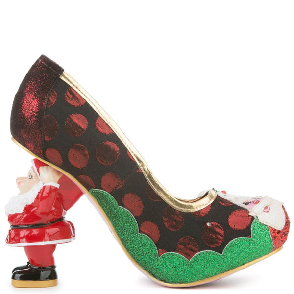 Women's Mr And Mrs Clause High Heel