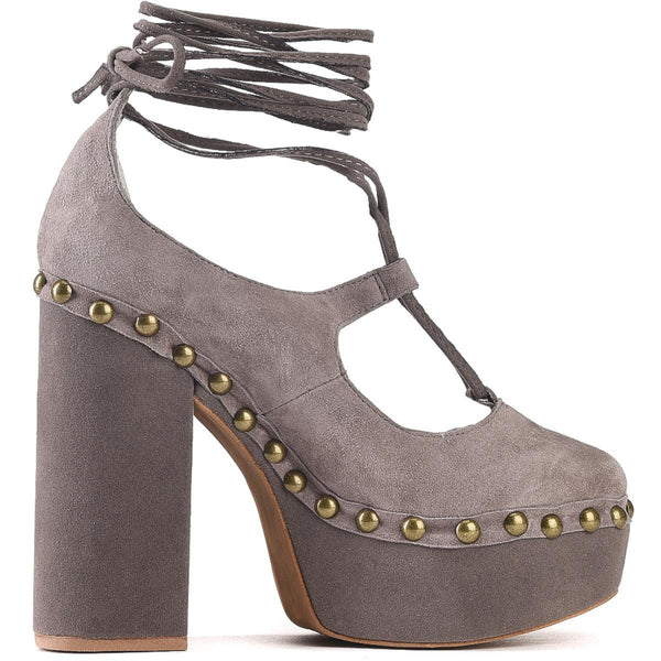 Jeffrey Campbell for Women: Bettina Taupe Heels