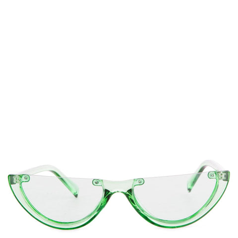 Green Half Sunglasses