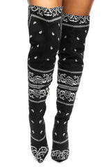 Spring High Heel Thigh High Boots