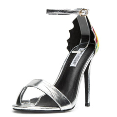 Cape Robbin Suzzy-66 Silver Women's High Heel