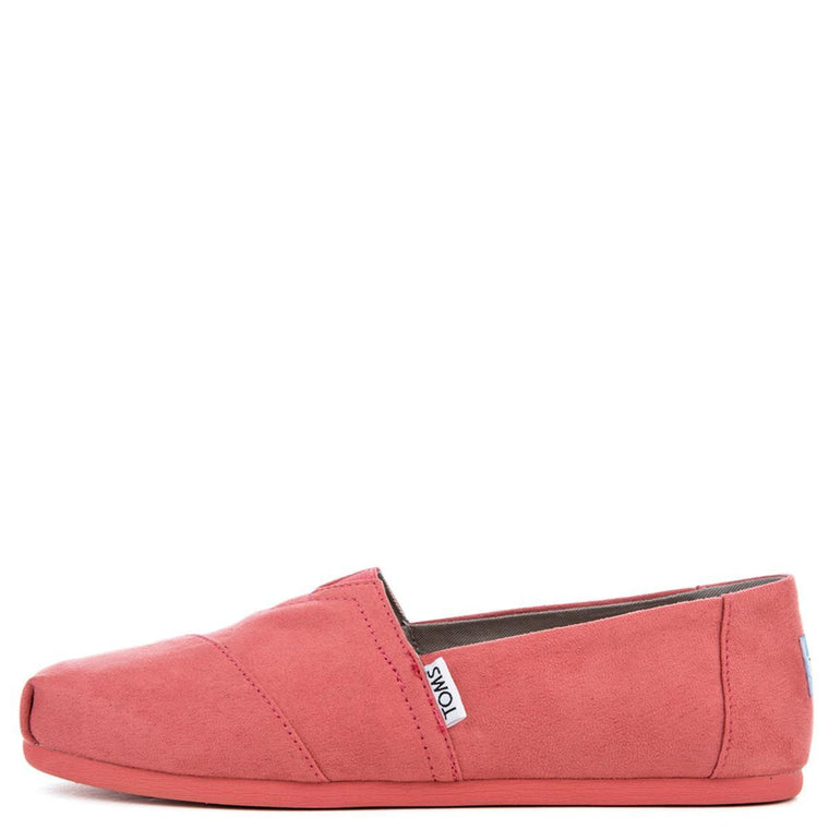 Toms Women's Classic Faded Rose Microfiber Flat