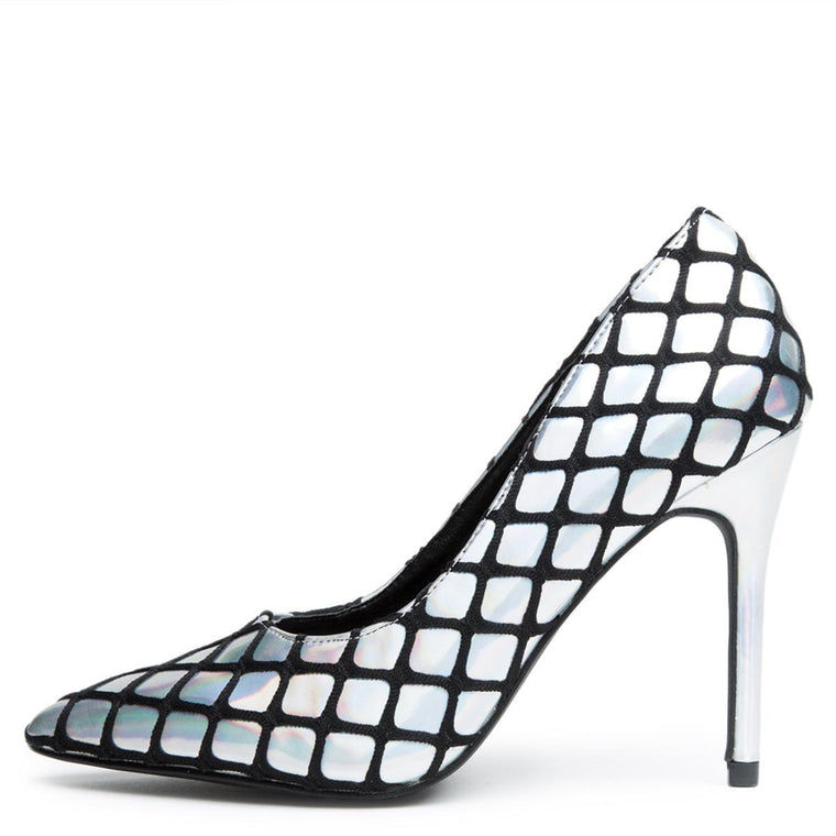 Cape Robbin Gigi-52 Hologram Women's High Heel