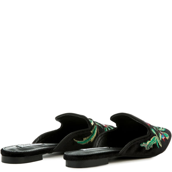 Cape Robbin Cell-17 Women's Black Mules